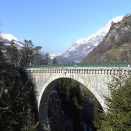 Saut à l'élastique pont Napoléon