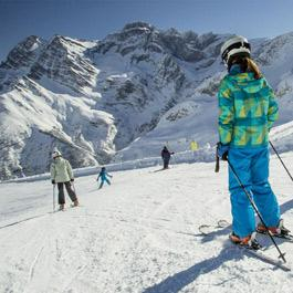 Ski en famille à Gavarnie-Gèdre