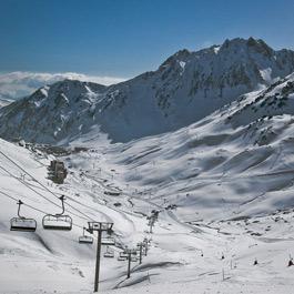 Tourmalet ski resort