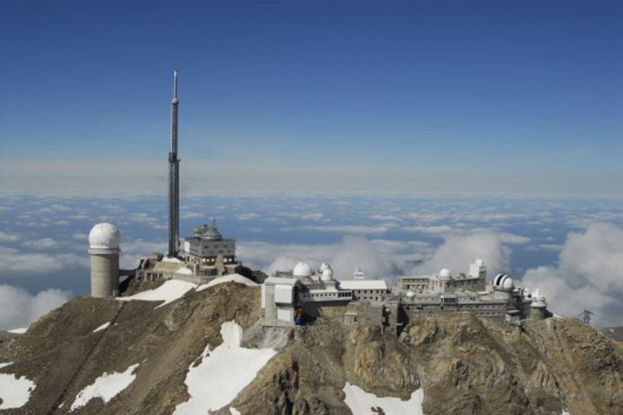 The Pic du Midi observatory in Bigorre