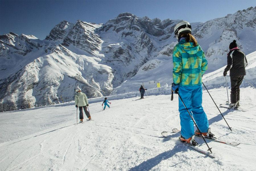 The Gavarnie-Gèdre ski resort