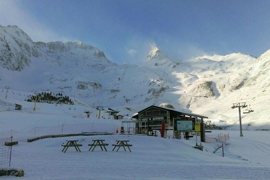 The Luz-Ardiden ski resort
