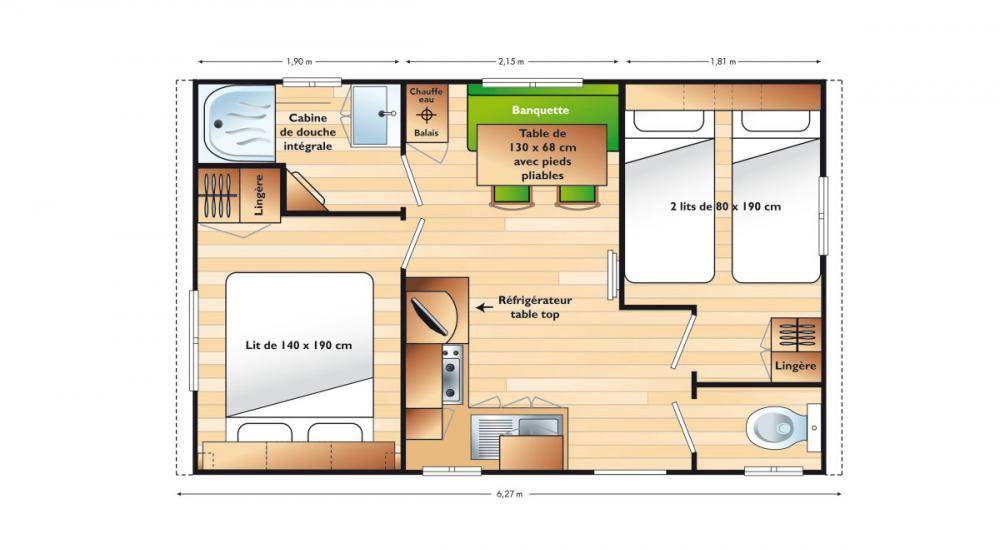 Plan de casa móvil Venus