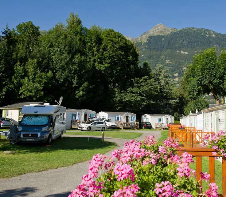 location mobil home camping le bergons esterre hautes pyrénées